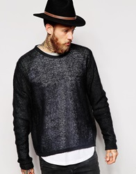 Dr. Denim Dr Denim Crew Jumper Escape Lightweight Knit Black
