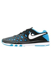 Nike Performance Train Speed 4 Sports Shoes Black Blue Glow White