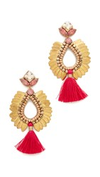 Deepa Gurnani By Lieu Earrings Gold