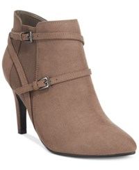Styleandco. Style Co. Zoey Strappy Booties Only At Macy's Women's Shoes Truffle