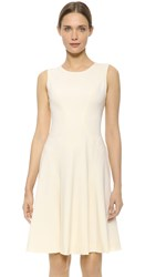 Prabal Gurung Sleeveless Dress Ivory