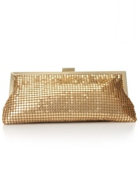 Style And Co. Darcy Small Frame Clutch Gold