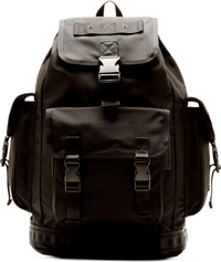 Marc By Marc Jacobs Black Scout Walter Backpack