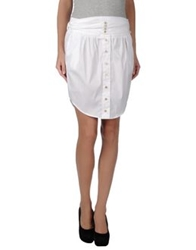Patrizia Pepe Mini Skirts White