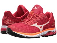 Mizuno Wave Rider 20 Lollipop White Clownfish Women's Running Shoes Coral