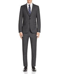 Hugo Astian Hets Slim Fit Suit Charcoal