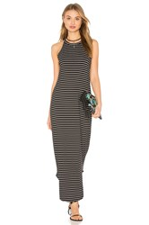Lna Stripe Leigh Dress Black
