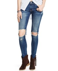 Denim And Supply Ralph Lauren Distressed Skinny Jeans Dylan