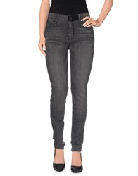Rta Denim Denim Trousers Women Grey