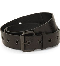 Ann Demeulemeester Leather Belt Black