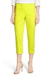Women's Chaus 'Courtney' Side Zip Ankle Pants Tropic Lime