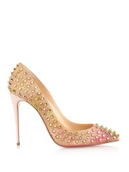 Christian Louboutin Follie Spike 100Mm Cork Pumps