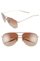 Salt 'Francisco' 59Mm Polarized Sunglasses Honey Gold Brown