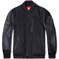 Nike Apparel Nike Destroyer Jacket Black Heather And Obsidian