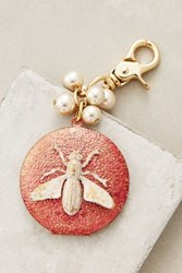 Anthropologie Animal Kingdom Locket Keychain Red