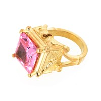 Metal Couture Gold Antoinette Locking Ring
