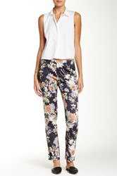 Johnny Was Printed Silk Pant Multi