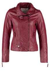 Esprit Faux Leather Jacket Red