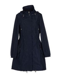 Stefanel Full Length Jackets Dark Blue