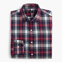 J.Crew Ludlow Shirt In Multicolor Tartan Ocean Blue