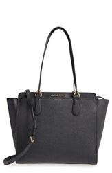 Michael Michael Kors 'Large Deedee' Convertible Tote Black