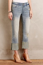 Anthropologie Pilcro Hyphen High Cuff Jeans Bouquet 30 P Pants