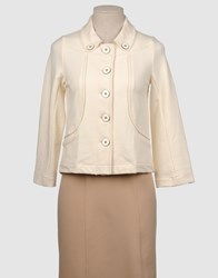 Essentiel Suits And Jackets Blazers Women Ivory