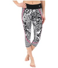 Trina Turk Pop Tropics Mid Length Leggings Multi Women's Workout