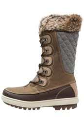 Helly Hansen Garibaldi Winter Boots Camel Coffe Bean Natura Khaki Brown