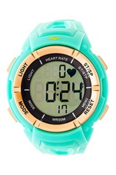 Everlast Unisex Hr3 Heart Rate Monitor Watch Green