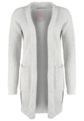 Superdry Aspin Cardigan Ice Grey Marl Light Grey