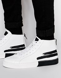 Religion Hi Top Trainers White