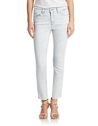 Jessica Simpson Cropped Skinny Jeans Riviera