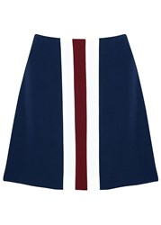 Finders Keepers First Time Navy Striped Skirt