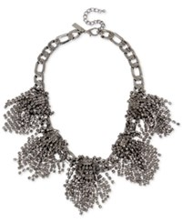 Inc International Concepts Rhinestone Statement Necklace Only At Macy's Gray