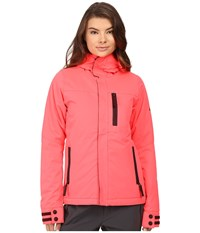 686 Authentic Eden Insulated Jacket Electric Poppy Women's Coat Pink