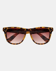 Consortium Cm007 Tort Sunglasses Yellow