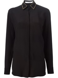 Givenchy Studded Collar Shirt Black