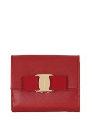 Salvatore Ferragamo Mini Saffiano Leather Wallet