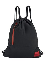 Nixon Red Everyday Cinch Black Details Backpack