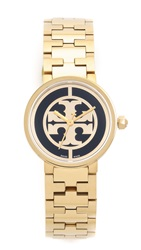 Tory Burch Reva Watch Gold Black