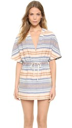 Solid And Striped The Cape Tunic Chambray Stripe