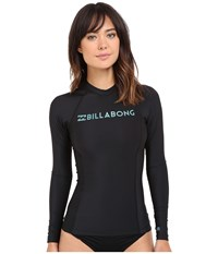 Billabong Surf Dayz Long Sleeve Rashguard Black Women's Swimwear