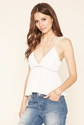 Forever 21 Contemporary V Neck Cami