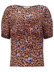 Alice By Temperley Somerset By Alice Temperley Leopard Print Top Multi