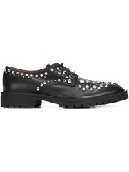 Givenchy Gem Embellished Derby Shoes Black