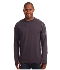 Kuhl Kommando Crew Graphite Men's Long Sleeve Pullover Gray