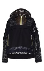 N 21 No. Eugenia Lace Sport Jacket Black