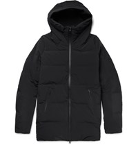 Descente Element Quilted Hell Down Jacket Black
