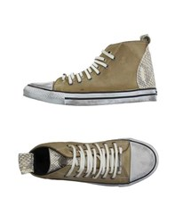 Dioniso Footwear High Tops And Trainers Women Beige